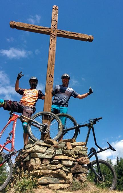 Aosta valley, Pila bikepark